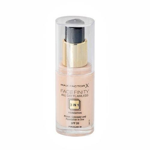 Max Factor Face Finity All Day Flawless 3 in 1 Foundation 33 Crystal Beige 30 ml