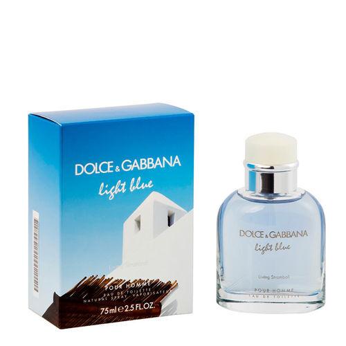 Image of Dolce & Gabbana (D&G) Dolce & Gabbana Light Blue pour Homme Living Stromboli EDT 75ml