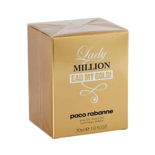 3,95 Paco Rabanne Lady Million Eau my Gold EDT 30ml