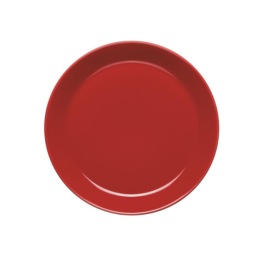 HÖGANÄS KERAMIK omenanpunainen, 4 KPL PIENTÄ LAUTASTA (20 cm)