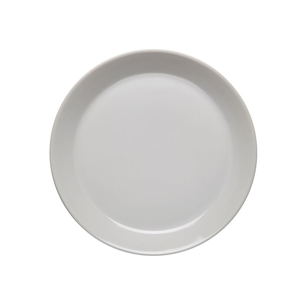 HÖGANÄS KERAMIK kiiltävä valkoinen, 4 KPL PIENTÄ LAUTASTA (20 cm)