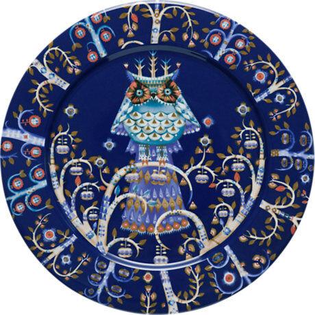 iittala Taika sininen, 6 kpl Keskikokoinen Lautaset (27 cm)
