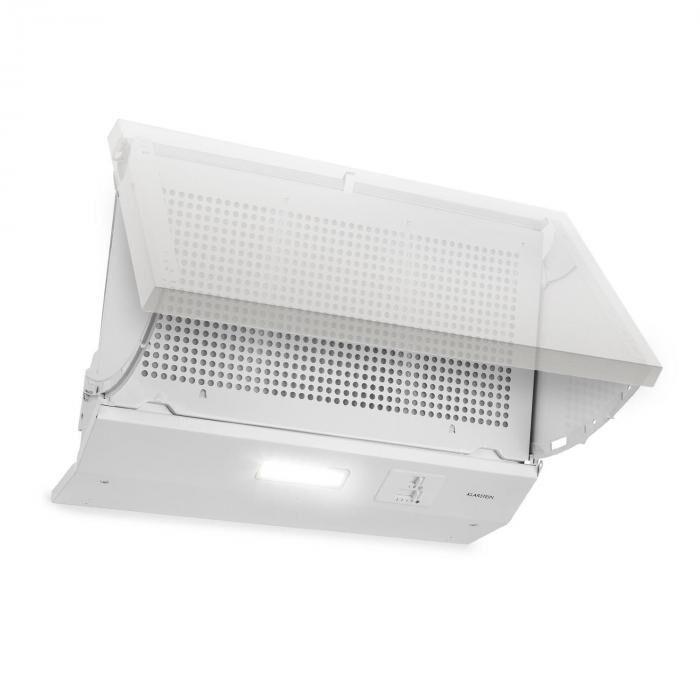 Klarstein Incognito liesituuletin 250 m³/h 60 W LED-valaistus valkoinen