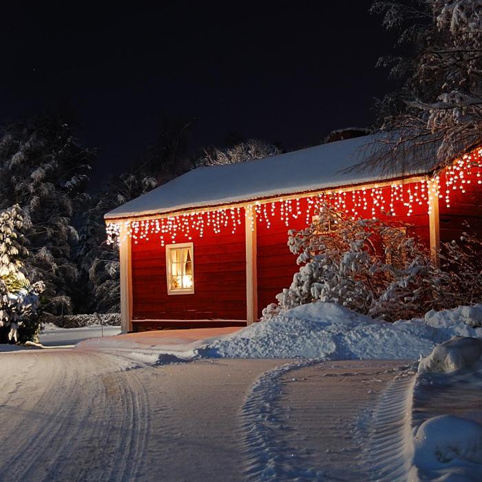 Blumfeldt Dreamhouse valosarja 16 m 320 LED lämminvalkoinen lumitehoste