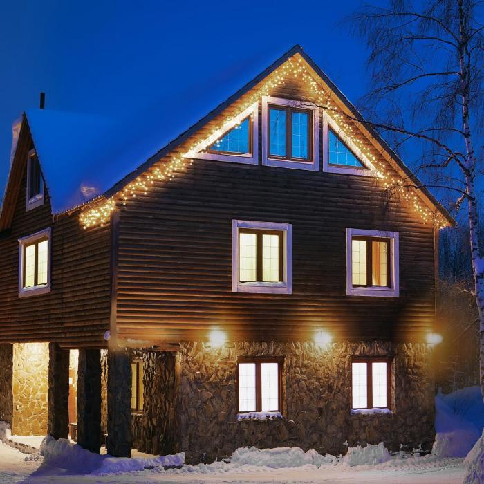 Blumfeldt Dreamhouse valosarja 16 m 320 LEDiä lämminvalkoinen vilkkuva