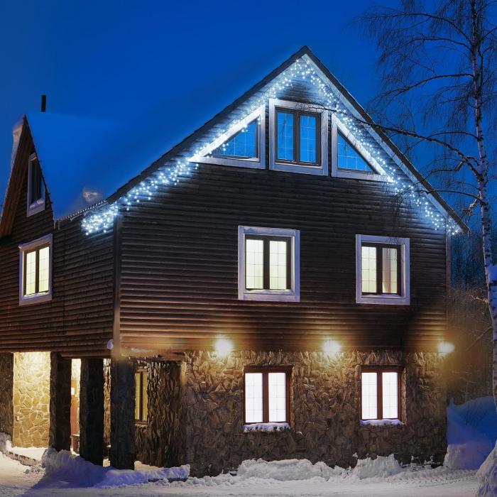 Blumfeldt Dreamhouse valosarja 24 m 480 LEDiä kylmävalkoinen vilkkuva