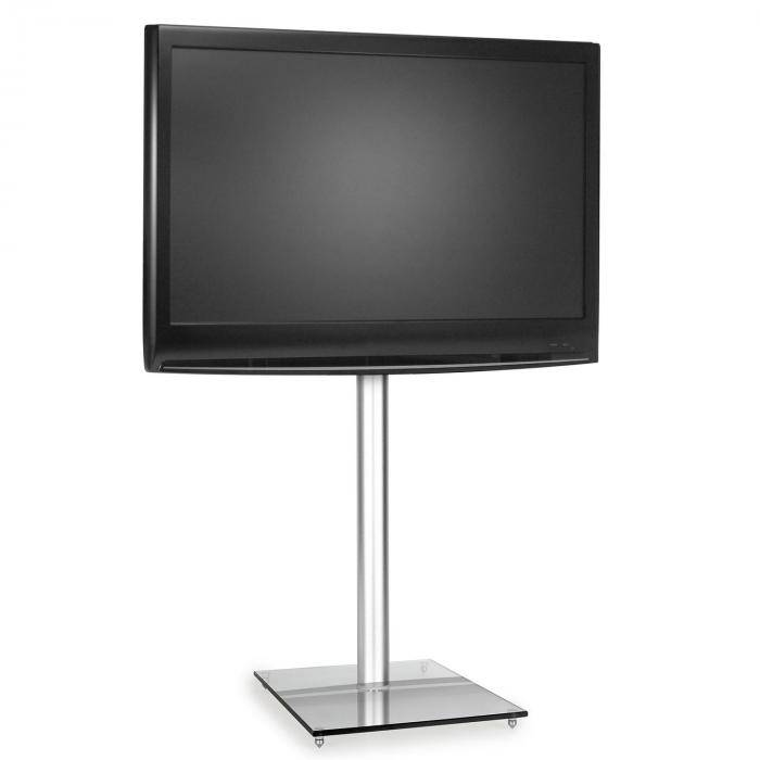 Electronic-Star TV kiinnike koroke jalusta lasi alumiini