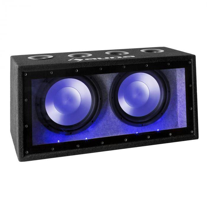 "Auna Cannonbeat TX12 passiivinen auto-basso 2 x 30cm (12"") 2 x 300W LED"