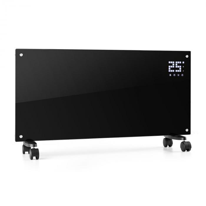Klarstein Bornholm lämmitin 2000W LCD-näyttö 2 lämmitysastetta musta