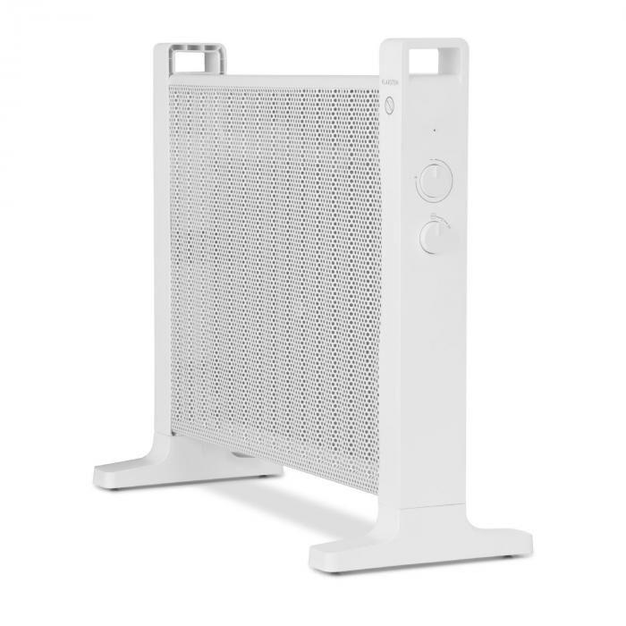 Klarstein HeatPalMica15 sähkölämmitin Mica 2 lämmitystasoa 1500 W valkoinen