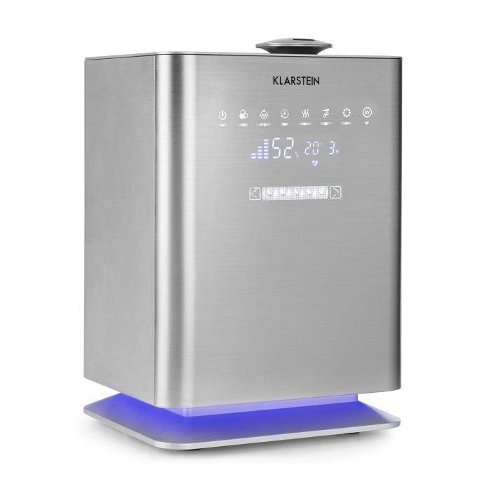 Klarstein Cubix ilmankostutin ionisaattori 350ml/h 5,5l tankki baby modus
