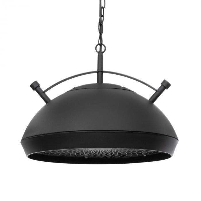 Blumfeldt Bristol Heat terassilämmitin infrapuna ComfortHeat IP54 2100 W musta