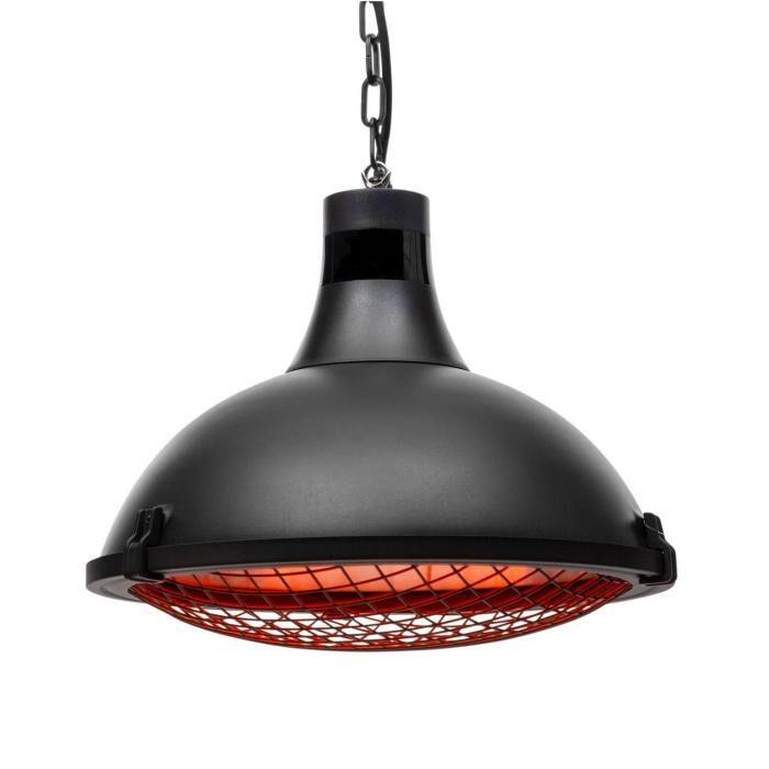 Blumfeldt Blackpool Heat terassilämmitin infrapuna ComfortHeat IP54 2100 W musta