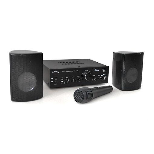 LTC Star1 PA-järjestelmä päätelaite kaiutinsetti 2 x 20 W max. mikrofoni karaoke