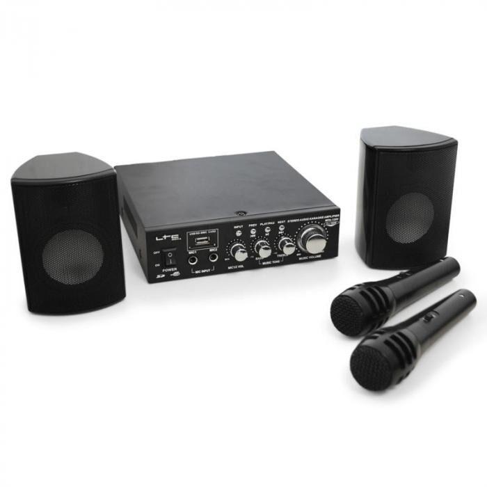 LTC PA-setti LTC Star-2 kompakti USB-SD-MP3 200 W 2 x Mic