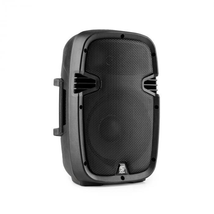 "Skytec SPJ800ABT MP3 high end aktiivikaiutin 200 W 8"" bluetooth MIC-IN SD USB"