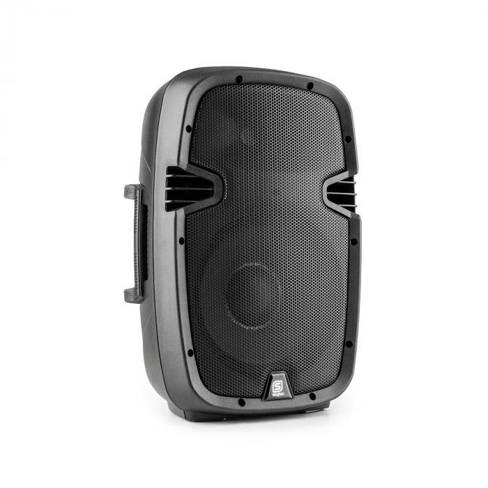 "Skytec SPJ1000ABT MP3 high end aktiivikaiutin 400 W 10"" bluetooth MIC-IN SD USB"
