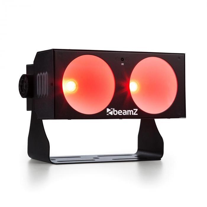 Beamz LUCID 1.2 LED-valoefekti 2x 10W COB LED