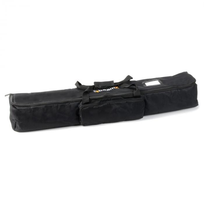 Beamz AC-425 soft case-laukku kaiutinjalustoille 108 x 15 x 16 cm musta