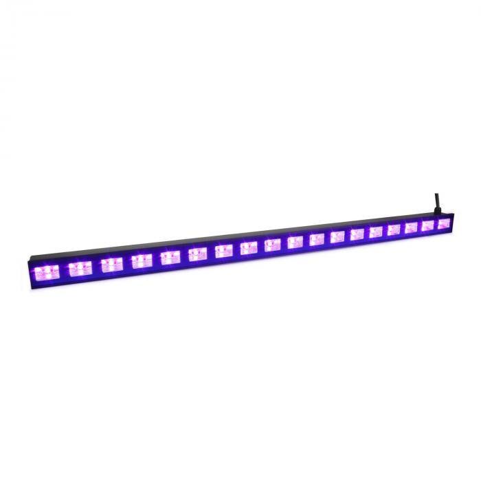 Beamz BUV183 LED UV lista UV-valo 18 x 3 W Plug & Play 40 W