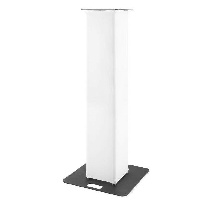 Beamz P30 trussi korkeus: 1,5 m jalusta: 60 x 60 cm tornilevy: 35 x 35 cm valkoinen