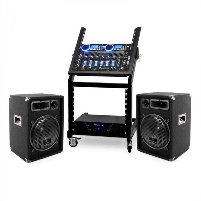 Electronic-Star DJ-Pa-setti Rack Star-sarja Neptun Palace 250 henkilöä
