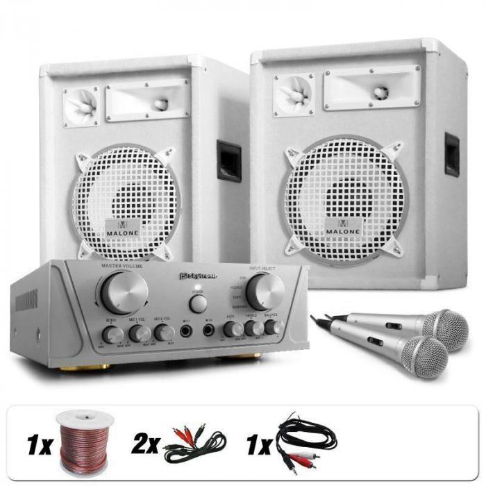 Electronic-Star Greenland Deluxe DJ/PA-setti, 800W