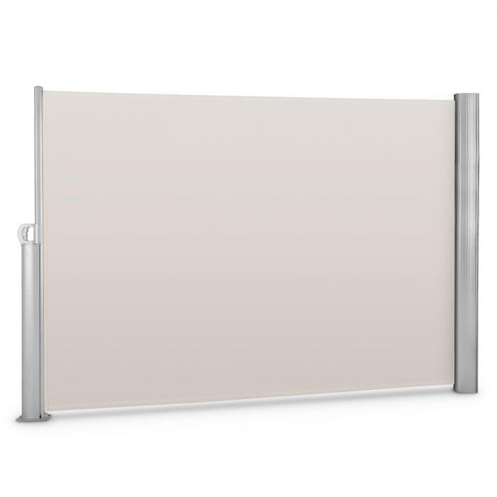 Blumfeldt Bari 320 sivumarkiisi 300x200cm alumiini kerma/hiekka