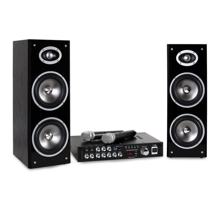 LTC Karaoke-Star3-WM karaokesetti VHF USB BT MIC
