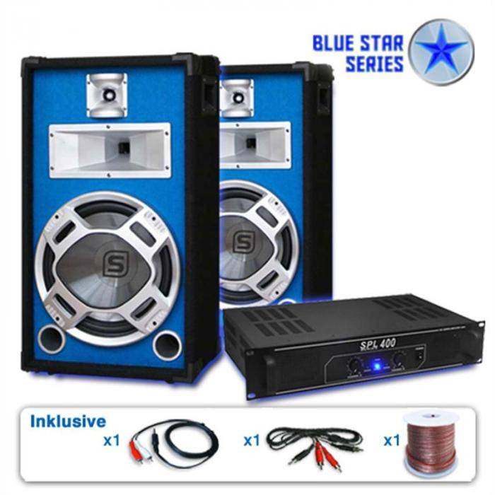 "Electronic-Star PA-setti Blue Star-sarja ""Starter"" 1200W"