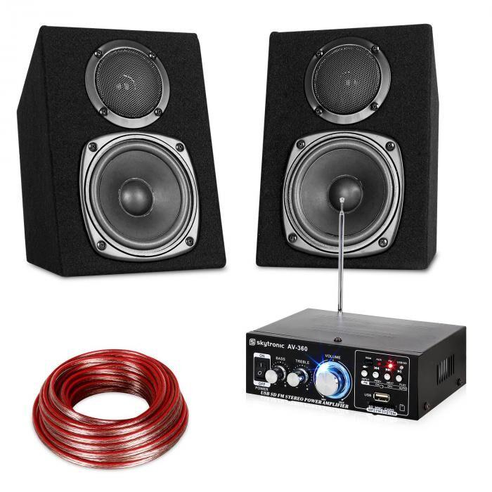 Electronic-Star Hifi-stereo äänijärjestelmä USB SD MP3 - 30 W