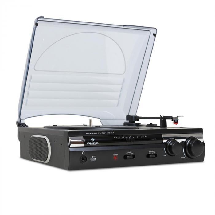 Auna 182TT USB-levysoitin MP3-äänityksellä