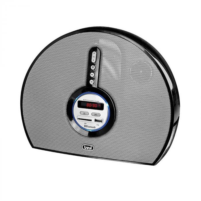 Trevi SR-8410 BT Bluetooth-kaiutin USB SD AUX, musta