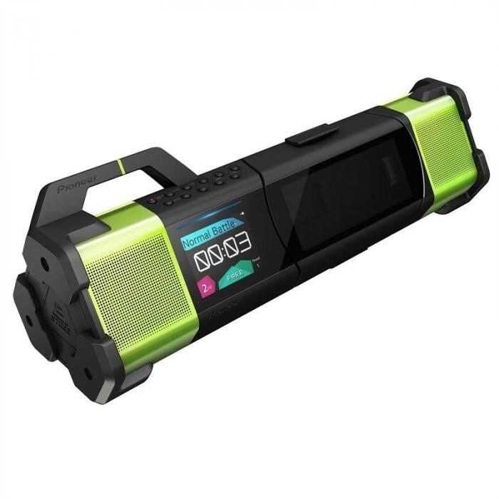 Pioneer STZ-D10T-G Audio-Player USB AUX MP3 vihreä