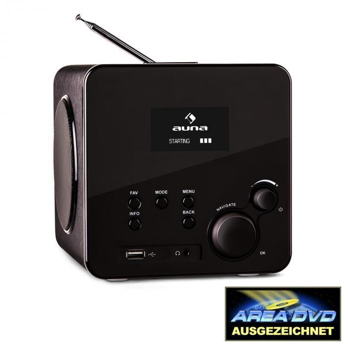 Auna Radio Gaga internetradio WLAN/LAN DAB/DAB+ FM/AM USB AUX