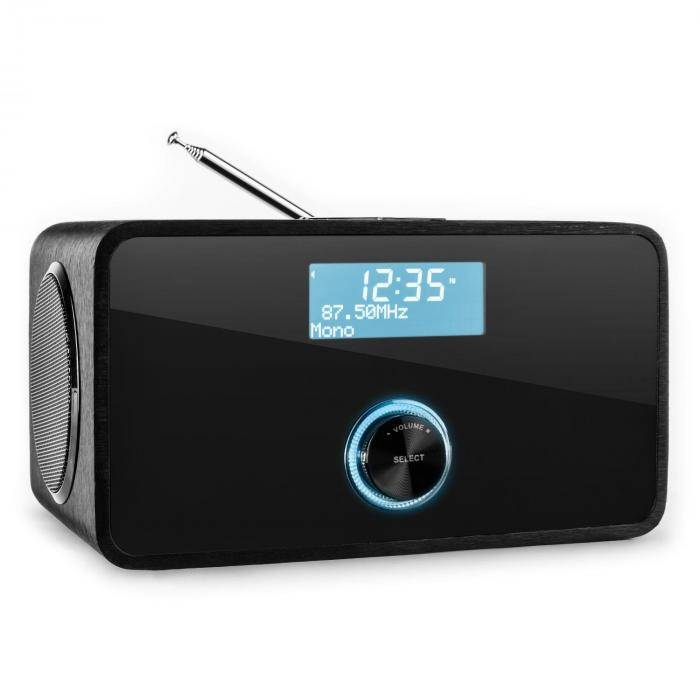 Auna DABStep DAB/DAB+ digitaalinen radio Bluetooth FM RDS herätyskello