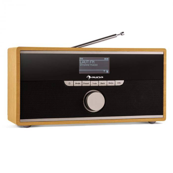 Auna Weimar DAB-radio internetradio Bluetooth pyökki