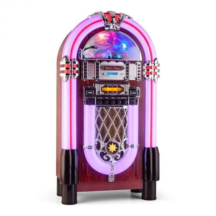 Auna Graceland XXL BT jukebox bluetooth USB SD AUX CD UKW/MW