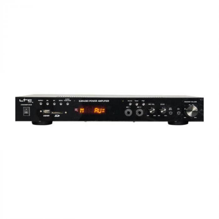 LTC ATM6100BT hifi-stereovahvistin 2 x 50 W HDMI bluetooth USB SD MP3 FM
