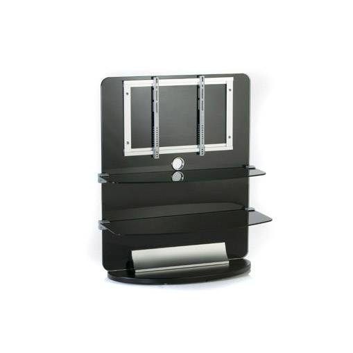 Electronic-Star TV-taso lasia 2 tasoa LCD-pidike räkki musta