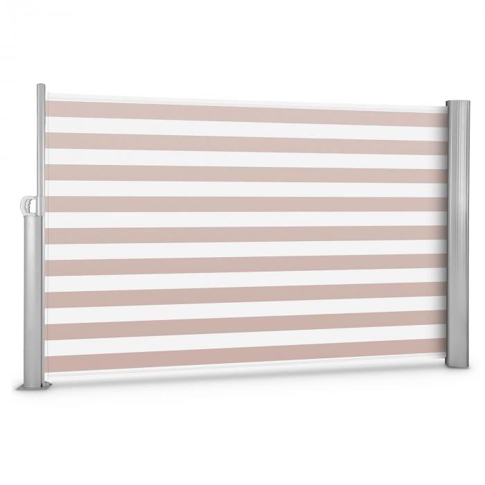 Blumfeldt Bari 318 sivumarkiisi 300x180cm alumiini kerma/valkoinen