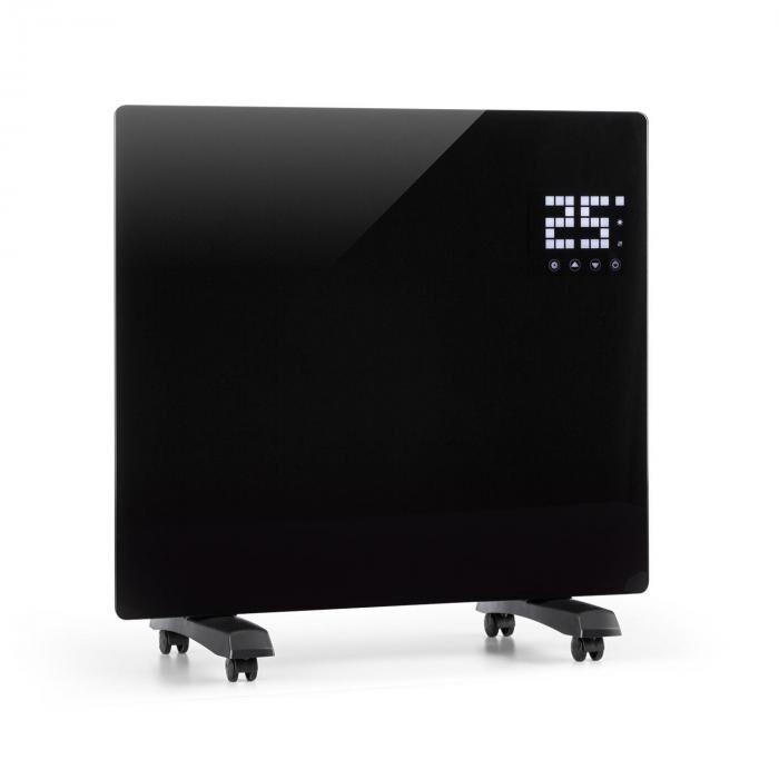 Klarstein Bornholm Single lämmityslaite ajastin 1000W musta