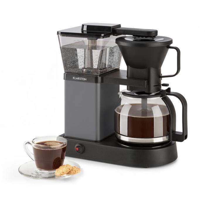 Klarstein GrandeGusto kahvinkeitin 1690 W 1,3 l esihaudutus 96 °C musta
