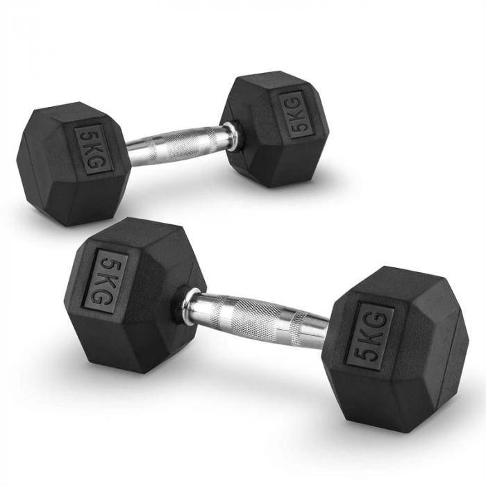 Image of Capital Sports Hexbell 5 käsipainot 5 kg