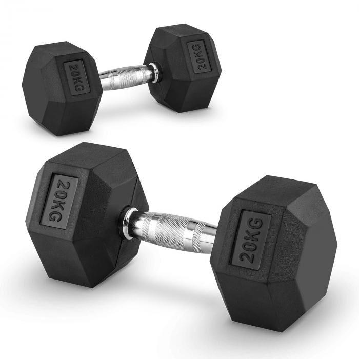 Image of Capital Sports Hexbell 20 käsipainot pari 20kg