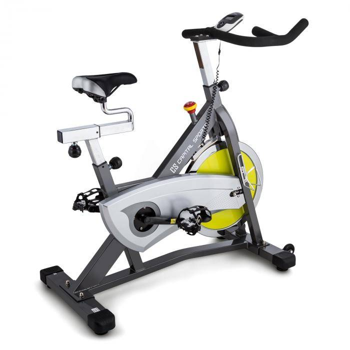 Capital Sports Radical Arc S18 Ergo-pyörä 18 kg liikemassa