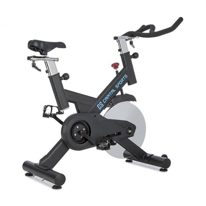 Capital Sports Radical Arc X18 kuntopöyrä 18kg Flywheel hihnakäyttöinen max 120