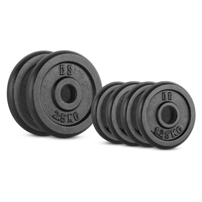 Image of Capital Sports IPB 10 kg levypainosetti 4 x 1,25 kg + 2 x 2,50 kg 30 mm