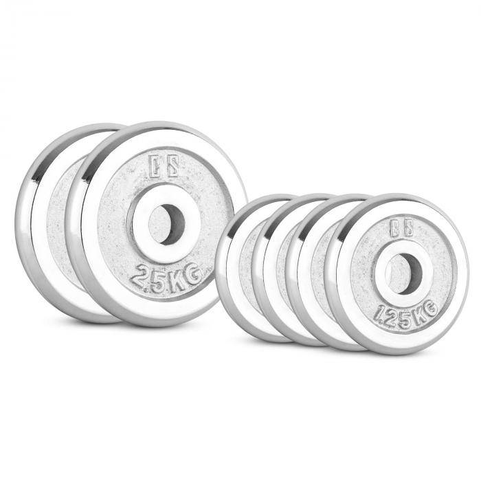 Image of Capital Sports CP 10 kg levypainosetti 4 x 1,25 kg + 2 x 2,5 kg 30 mm