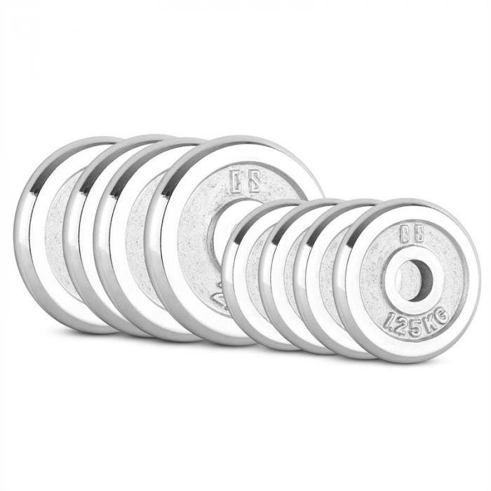 Image of Capital Sports CP 15 kg levypainosetti 4 x 1,25 kg + 4 x 2,5 kg 30 mm